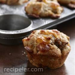 Sausage and Cheese Fluffins