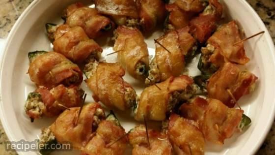 Sausage Jalapeno Poppers
