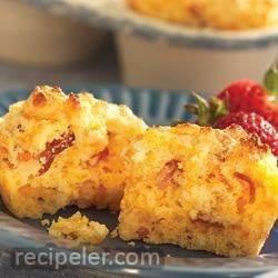 Savory Bacon Cheddar Corn Muffins
