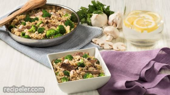 Savory Beef & Broccoli Rice