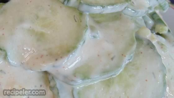 Savory Cucumber Salad