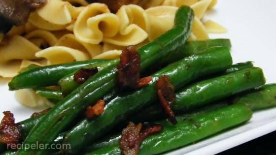 Savory Green Beans