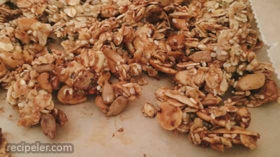 Savory Nut and Seed Granola