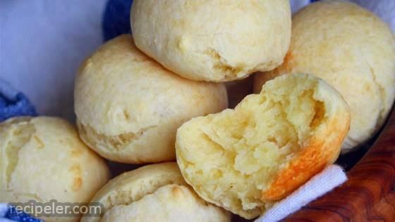 Savory Pao de Queijo (Brazilian Cheese Bread)