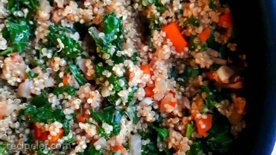 Savory Vegetarian Quinoa