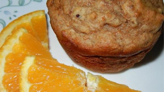 scrumptious bran muffin