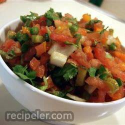 Secret ngredient Pico de Gallo