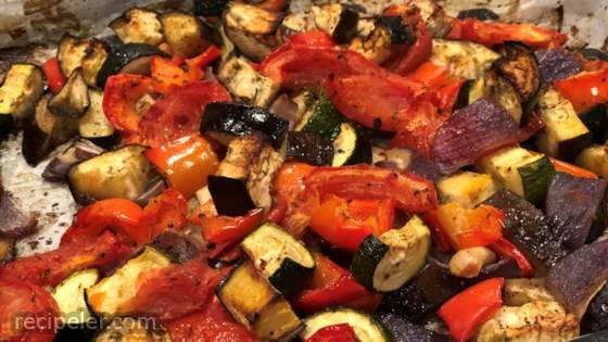 Sheet Pan Ratatouille