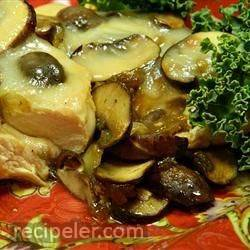 Sherry Chicken and Mushrooms