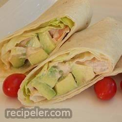 Shrimp and Avocado Wraps