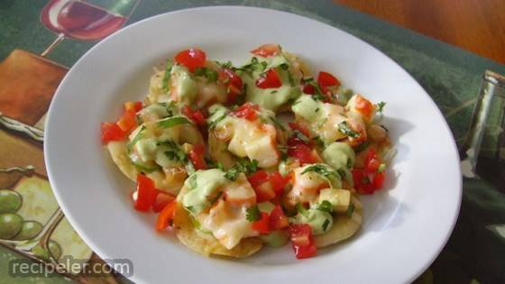 Shrimp And Jalapeno Nachos