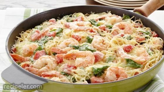 Shrimp and Pasta Formaggio
