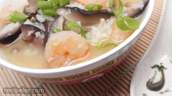 Shrimp Rice Soup