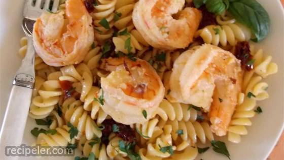 Shrimp Scampi with Sun-Dried Tomatoes