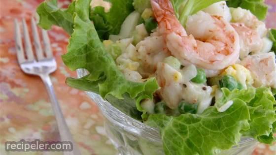 shrimply delicious shrimp salad