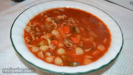 Sicilian Sausage Soup