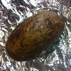 simple baked potato