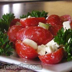 Simple Feta Cheese Salad