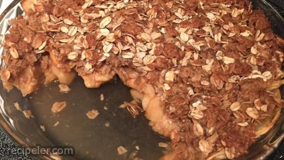 Simple Flourless Apple Crisp