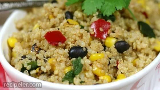 Simple Mexican Quinoa