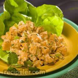 Simple Southwestern Chicken Salad