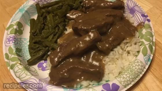 Simply Elegant Steak And Rice