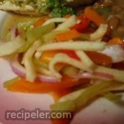 Singkamas (Jicama) Salad