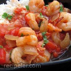 sland Shrimp and Rice