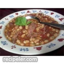 Slow Cooker Calico Bean Soup