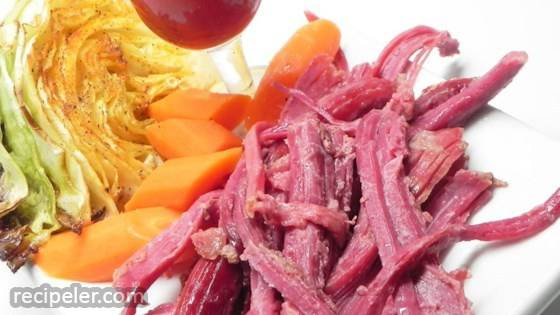 Slow Cooker Corned Beef-Style Brisket