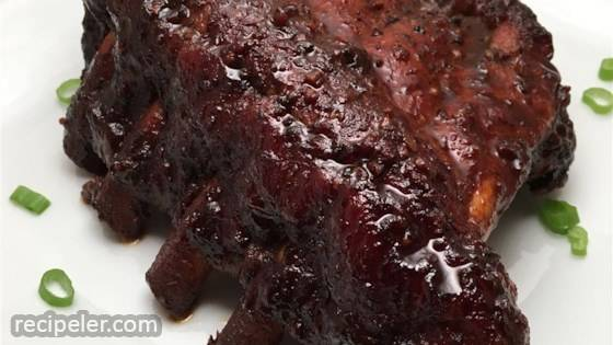 Slow-Cooker Hoisin Ribs