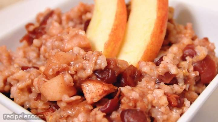 slow cooker oats