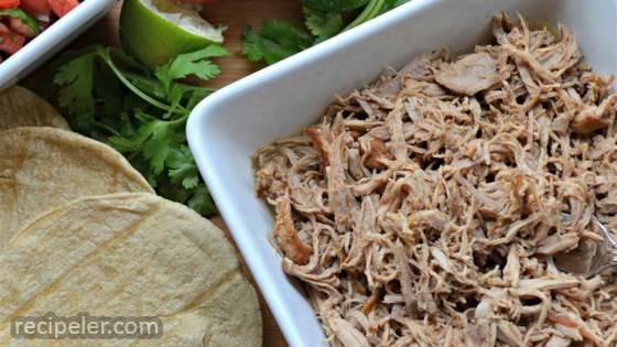 Slow Cooker Puerto Rican Shredded Pork