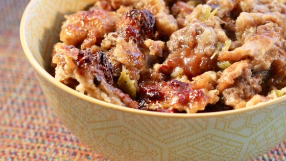 slow cooker sage and onion stuffing