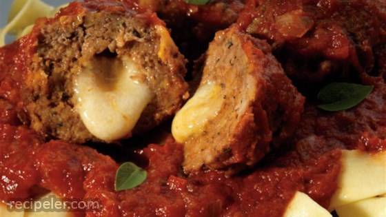 Slow Cooker Sauce with Meatballs