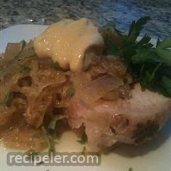 Slow Cooker Sauerkraut Pork Loin