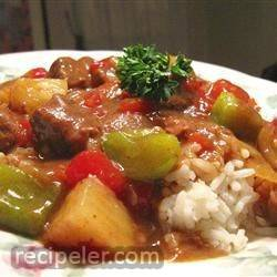 Slow Cooker sland Beef