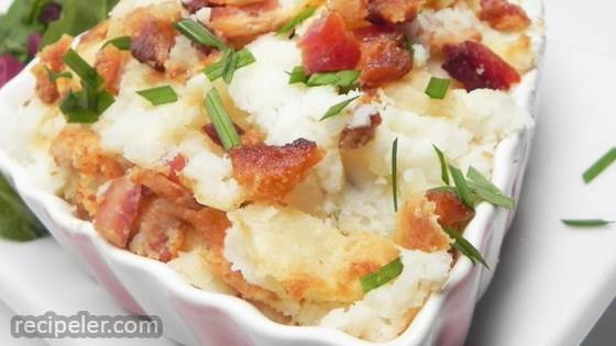 Smoked Bacon and rish Cheese Mash