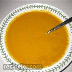 Smoked Carrot Bisque