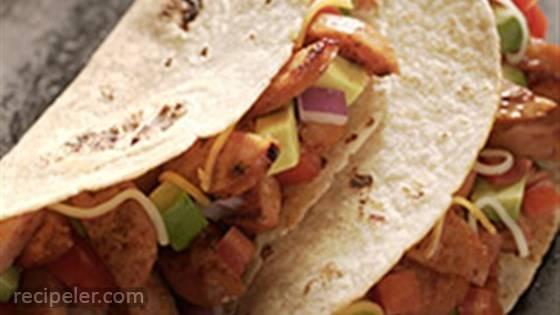 Smoked Sausage Tacos