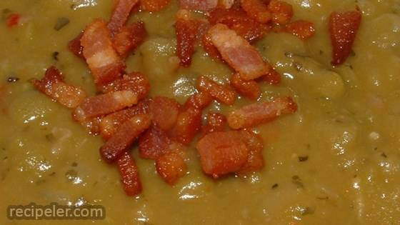 Smoked Turkey Split Pea Soup