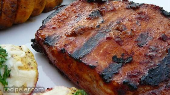 Smoky Grilled Pork Chops