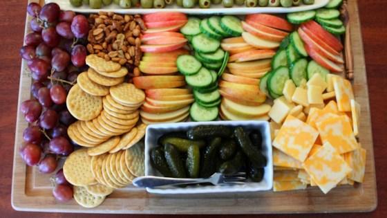 snack-t-up appetizer board
