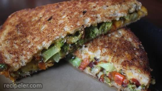 Sneak-Em n Grilled Cheese Sandwich
