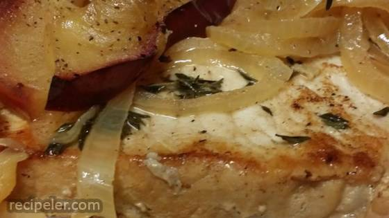 Somerset Pork with Cream and Apples