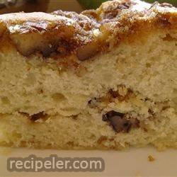 sour cream coffee cake v