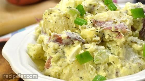 southern dill potato salad