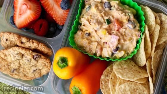 Southwest Chicken Salad Bento Box