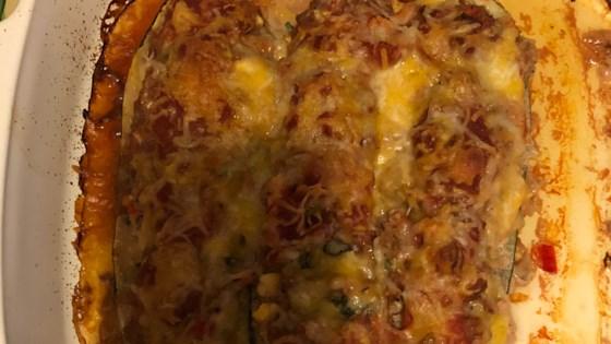 southwest stuffed zucchini
