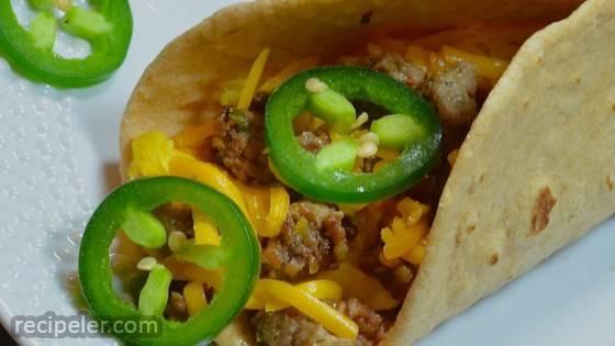 Southwestern Breakfast Tacos